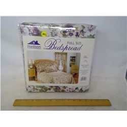 Queen Size Bed Spread, Pillow Covers, and Decorative Pillow Sham