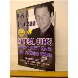 Kevin Trudeau Natural Cures Hardcover Book