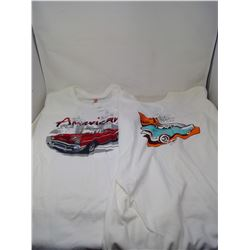 A&W Cruisin and American Diner T-Shirts XL
