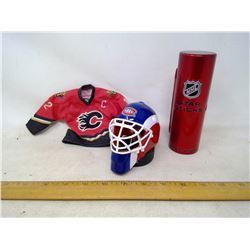 Hockey Items (Cary Price, Huet, Iginla Mini Jersey)