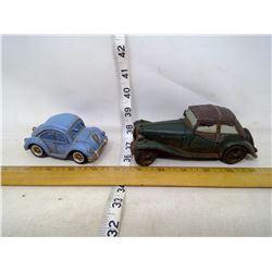 2 Resin Cars