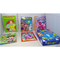 Monster Activity Kit and Colouring Books