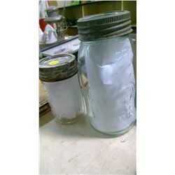 CROWN QUART JAR AND PINT JAR