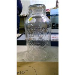 HORLICKS MALTED MILK 1/2 GALLON W/ GLASS TOP