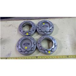 SET OF 4 FORD 3/4 TON CENTER CAPS