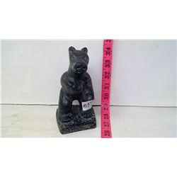 Inuit Stone Sculpture - Bear Standing