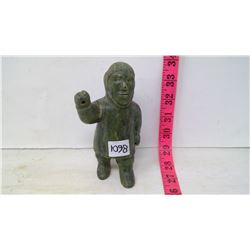 Inuit Stone Sculpture - Standing Man