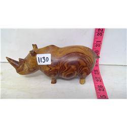Woodcarving , Rhinoceros