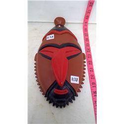 Woodcarving Mask - Spirit Face - Africa