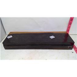 Ebony Cribbage Board - Contains Dominos - 5lbs