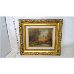 Original Painting by Bellis Friar by Woods and Ruins
