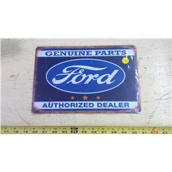 FORD REPRODUCTION TIN SIGN