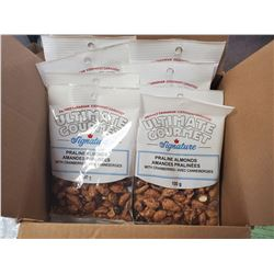 Box of Praline Almonds with Cranberries (8 BAGS)