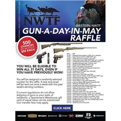 Western Region NWTF Gun-A-Day-in-MAY https://events.nwtf.org/99993005-2020