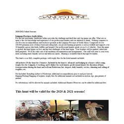Sandstone African Safari