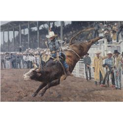 Brandon Bailey Print Lane Frost last Ride