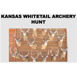 KANSAS WHITETAIL PRE-RUT ARCHERY HUNT