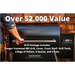 SOLD OUT SPORTSMAN'S BOX/ TRAEGER GRILL PACKAGE RAFFLE