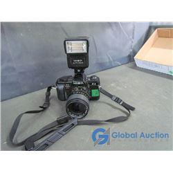 Minolta X-9 35mm Camera with Auto 220x Flash