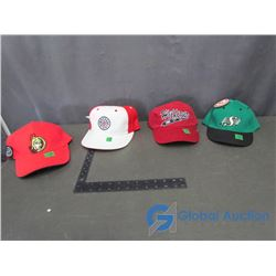 (4) Ball Caps - Ottawa Senators, Hockey Night in Canada, Saskatchewan Roughriders and Tommy Hilfiger