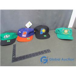 (4) Ball Caps - Indiana Pacers, Phoenix Suns, Saskatchewan Roughriders & Tommy Hilfiger