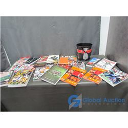 Canadian Football League (CFL) Media Guides - Programs and Pail