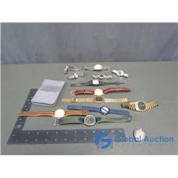 Wrist Watches - Swiss Army, Seiko, Canada Post, Rolex (Knock-Off)