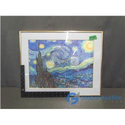 Vincent Van Gogh - The Starry Night Framed Print