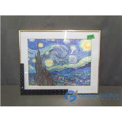 Vincent Van Gogh - The Starry Night Framed Print