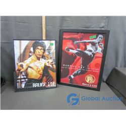 (2) Bruce Lee Framed Posters