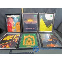 Video Games Framed Prints - Donkey Kong, Mario Kart, Pac Man, Mortal Combat