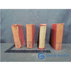 (4) Vintage History Books