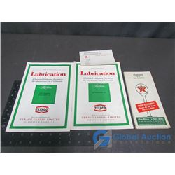 Texaco Map, Booklets, and Assorted