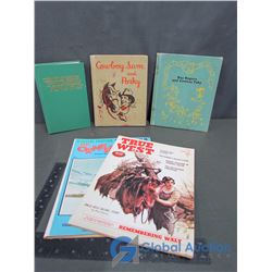 Vintage Books - Things in Which it is Imposible For God To Lie, Cowboy Sam and Porky