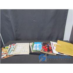 1975 Eatons Catalogue, Vintage Meccano Book, PA Park Brochure, Magazines