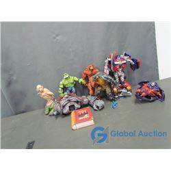 Misc Toys - Golem Statue, Transformers, Harry Potter Cards, and More