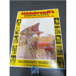 Hildebrandts Spinners and Flies Sign