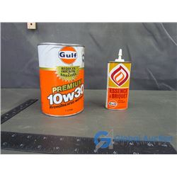 (2) Gulf Cans