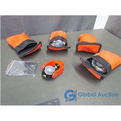 (4) Unused Laser Level Accessories