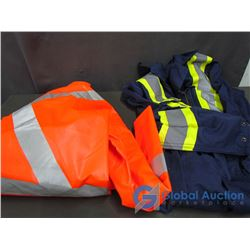 Pioneer Safety Rain Coat and Safety Coveralls Size 54
