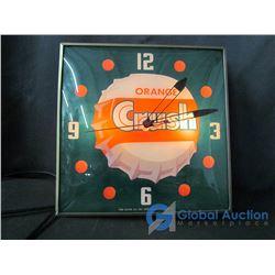 Crush Wall Clock - Pam Clock Dated 1956