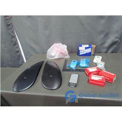(3) 30A 12 Volt Breakers; (3) Assorted AC Remote Controls