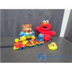 Assorted Sesame Street Toys