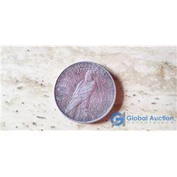 1923 US Peace Dollar (VG)