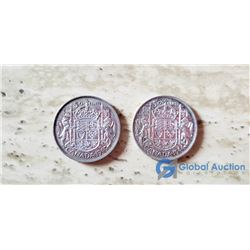 Canada 50 Cent VG 1944 & 1949