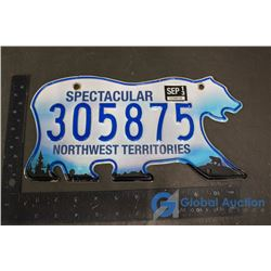 Northwest Territories Spectacular License Plate