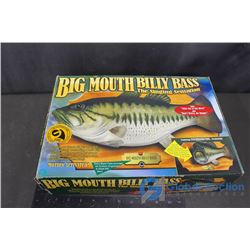 Big Mouth Billy Bass Singing Fish w/Original Box - Working