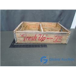 7-Up Wooden Crate