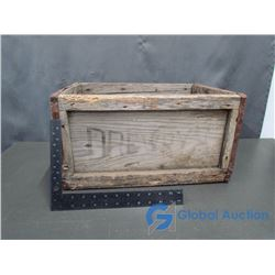 Brewry Wooden Crate