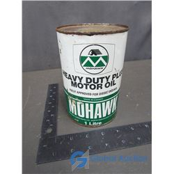 Mohawk Motor Oil Tin (w/contents)